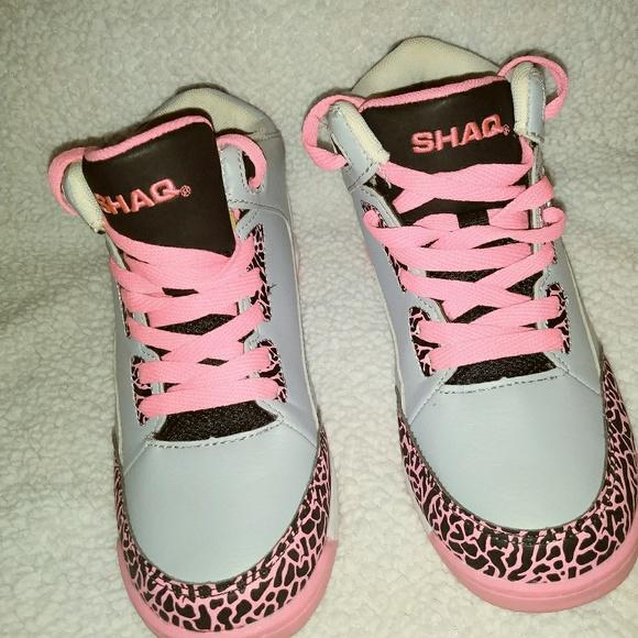 Shaq High Tops Minimal Wear Girls 3 Y
